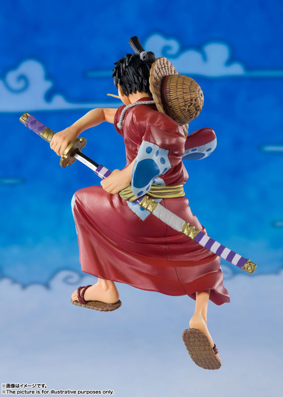 "Figuarts ZERO Monkey D. Luffy (Luffytarou) ""ONE PIECE"""