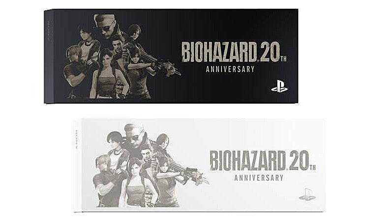 Image 4 for Playstation 4 Biohazard Special Pack 500 GB Model (Glacier White)