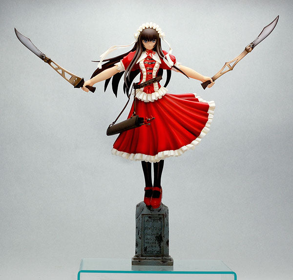 Ikkitousen - Teni -Batle ver. DX Edition- Red Color 1/7