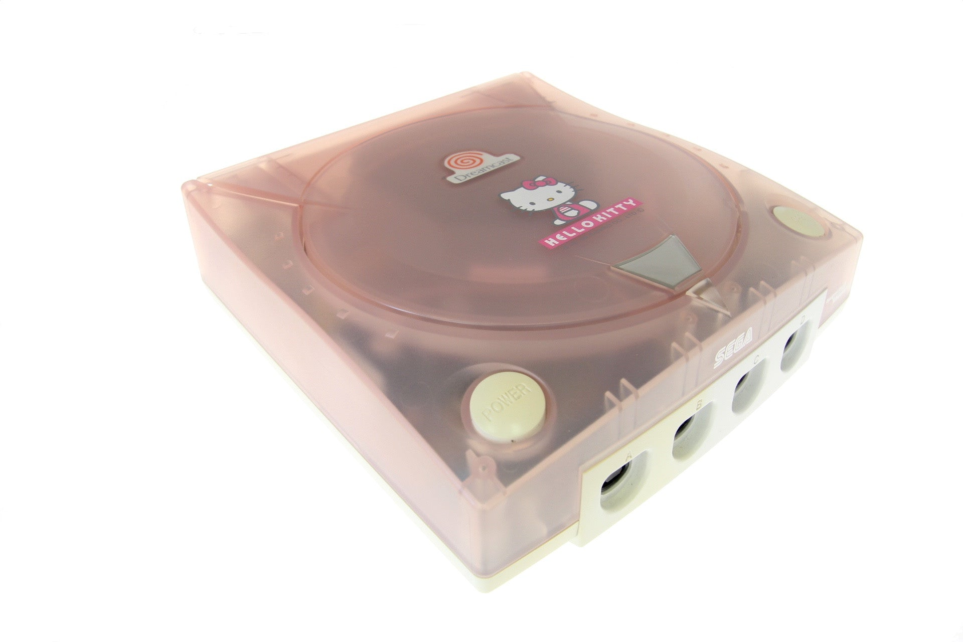 Hello Kitty Dreamcast Console Skeleton Pink (no box/manual)