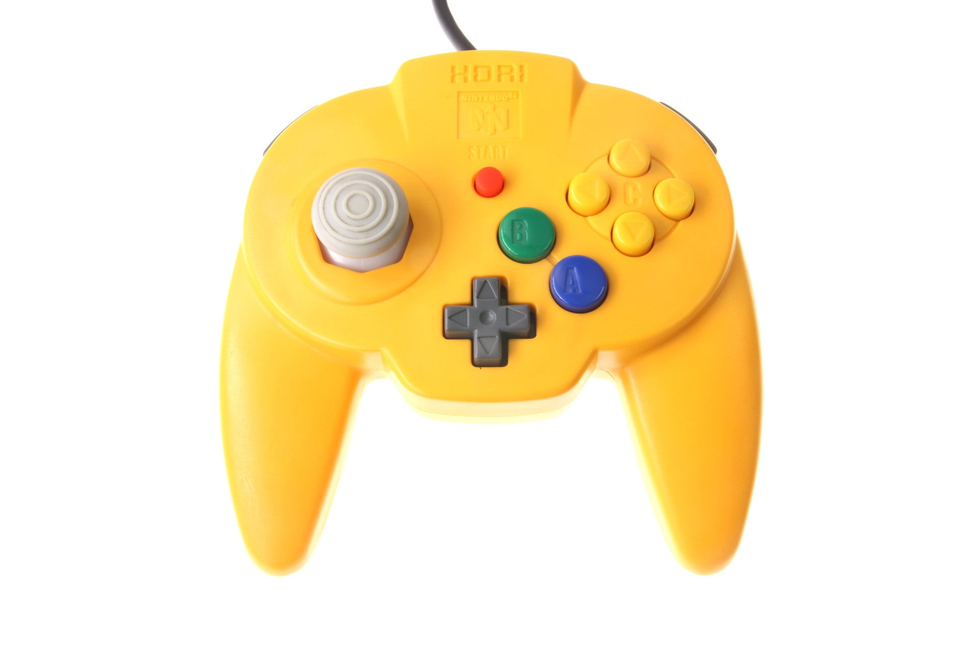 HORI Pad Mini64 Yellow - N64