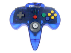 HORI Commander  Clear Blue N64 (no box/manual)