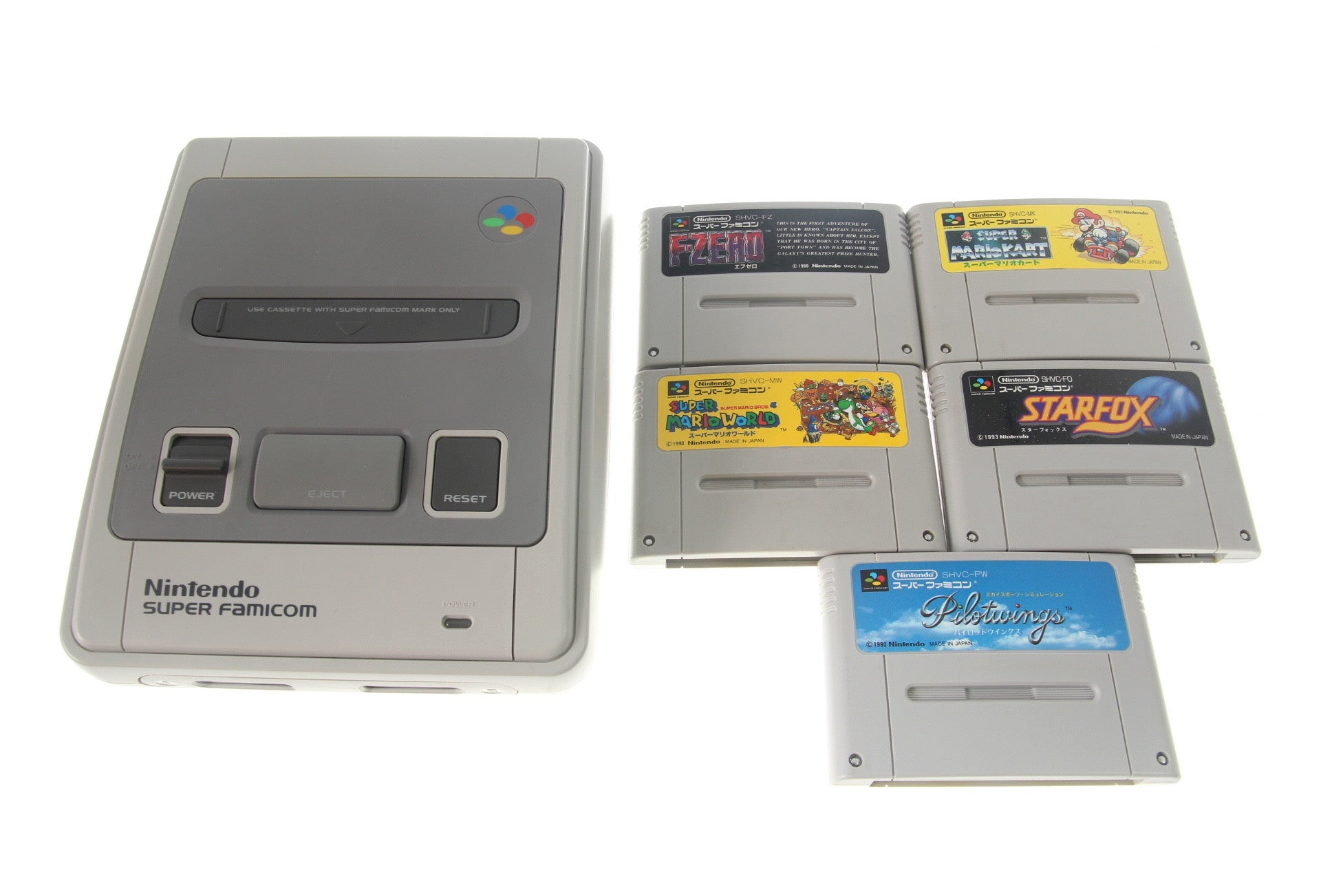 Image 1 for Super Famicom Starter Set (Nintendo Collection)