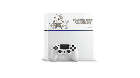 Image for PlayStation 4 Phantasy Star Online 2 500 GB Model (Glacier White) [Limited Edition]