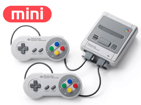 Image for Super Famicom Mini with controllers