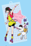 Image for Digital Monster - Digimon Adventure tri. - Acryl Keychain - Hikari & Tailmon