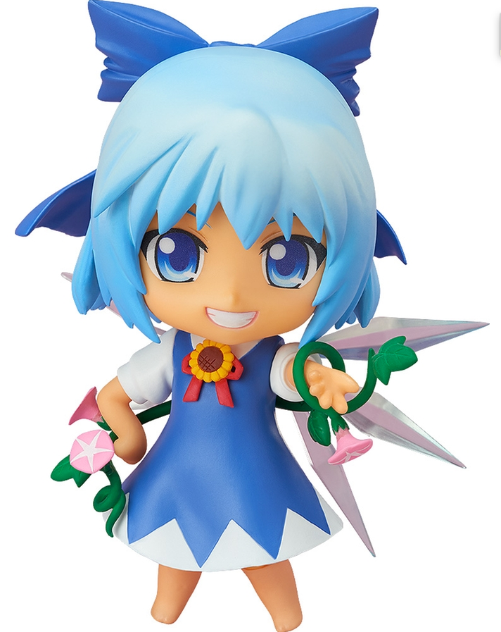 Image 1 for Touhou Project - Cirno - Nendoroid #167-b - Suntanned