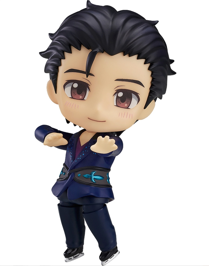 Image 1 for Yuri!!! on Ice - Katsuki Yuuri - Nendoroid #762 - Free Skating Ver.