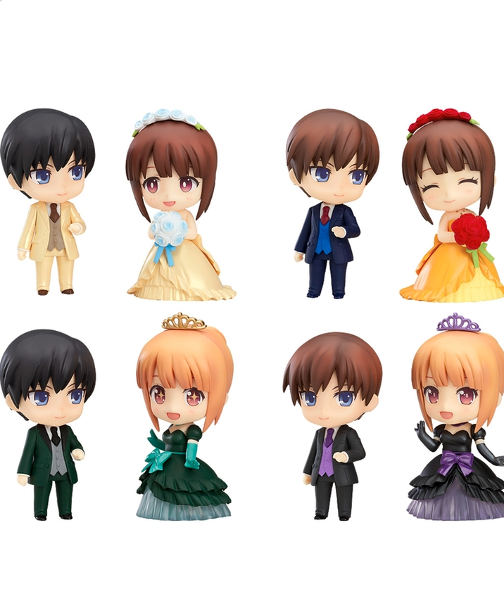 Nendoroid More - Nendoroid More: Dress Up Wedding - Elegant Ver. - Nendoroid More: Kisekae