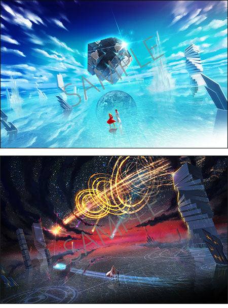Image 2 for Fate/EXTELLA - ebten Limited Canvas Art Set