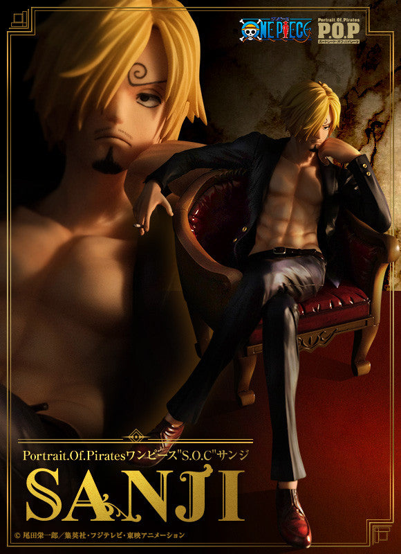 Image 1 for One Piece Sanji Excellent Model P.O.P. Limited Edition S.O.C. - 1/8 (MegaHouse)