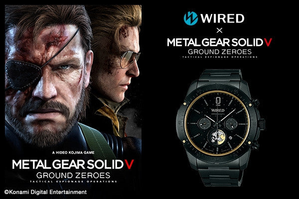 Image 1 for WIRED × METAL GEAR SOLID V: GROUND ZEROES LIMITED EDITION