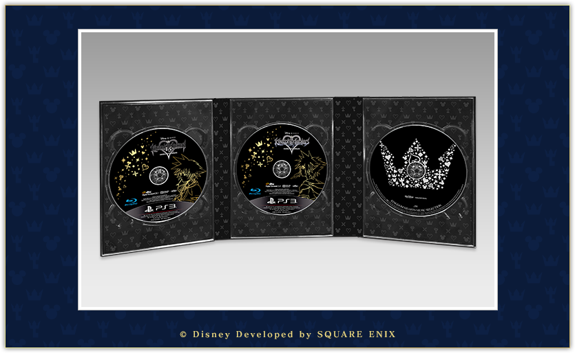Image 4 for Kingdom Hearts Collection Pack HD 1.5 + 2.5 ReMIX [e-STORE Limited Edition]