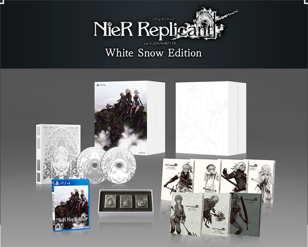 Nier Replicant Ver.1.22474487139... White Snow Edition [Shop Exclusive]
