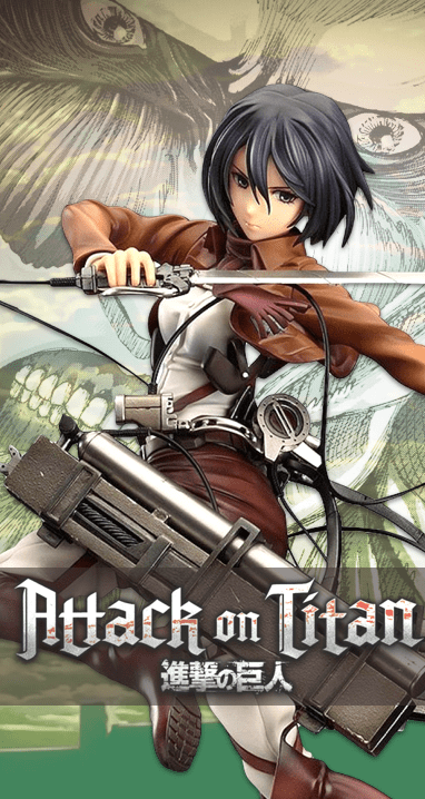 attack on titan banner