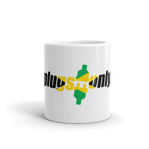 Plugs Only Jamaica Mug