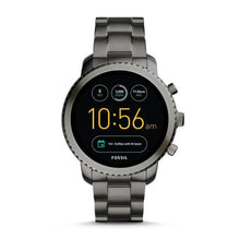 Load image into Gallery viewer, FOSSIL Gen 3 Smartwatch - Q Explorist (Smoke Stainless Steel)