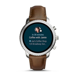 FOSSIL Gen 3 Smartwatch - Q Explorist (Brown Leather)