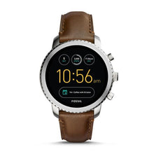 Load image into Gallery viewer, FOSSIL Gen 3 Smartwatch - Q Explorist (Brown Leather)