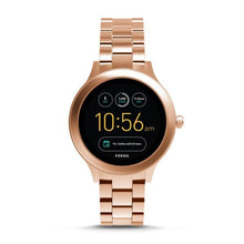 Load image into Gallery viewer, FOSSIL Gen 3 Smartwatch - Q Venture (Rose Gold - Stainless Steel)
