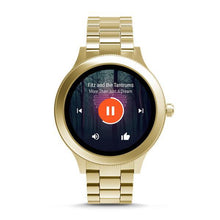 Load image into Gallery viewer, FOSSIL Gen 3 Smartwatch - Q Venture (Gold Stainless Steel)