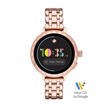Load image into Gallery viewer, KATE SPADE Smart Watch 2 (Rose Gold Stainless Steel)
