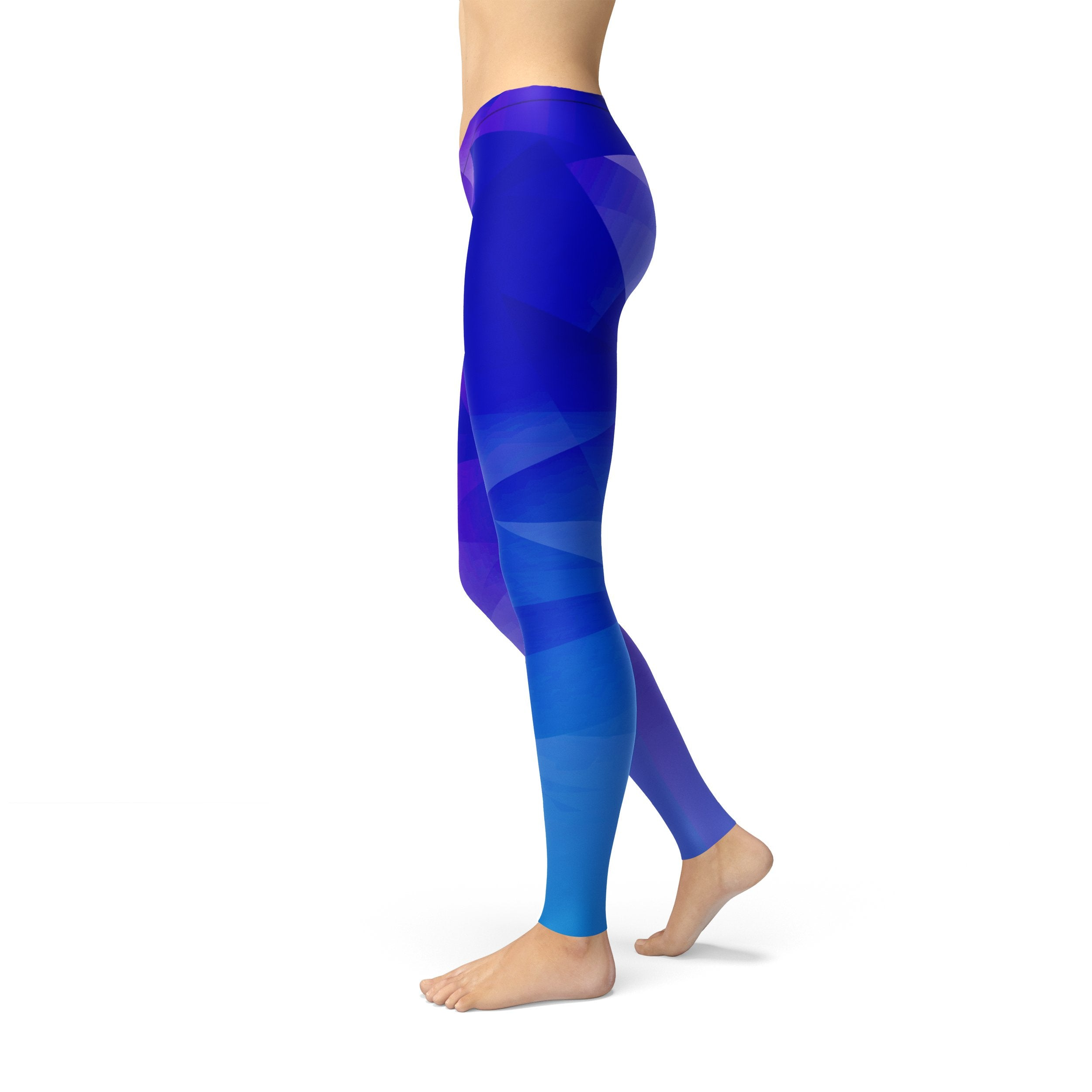 Blue Leggings - nuyubodysculpting.myshopify.com