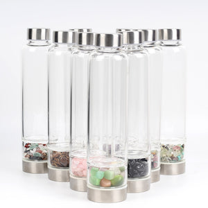Water Harmonizing Crystal Water Bottle - nuyubodysculpting.myshopify.com