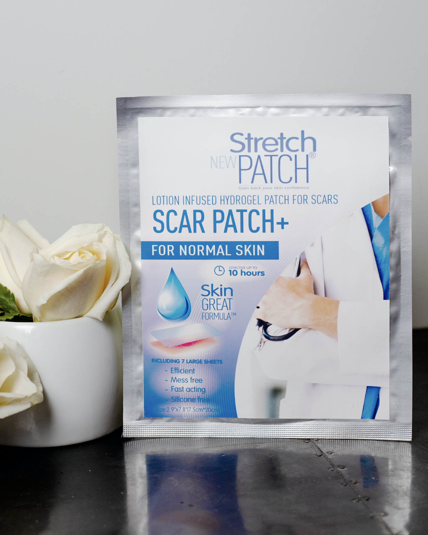 ScarPatch+ For Surgical Scars. 7pc/pack - nuyubodysculpting.myshopify.com