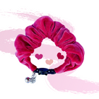 Fur-ever Pink Velvet Scrunchie Cat Collar