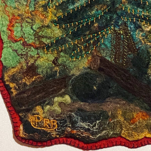 Folk Art | Cabin Decor | Evergreen