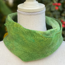 Load image into Gallery viewer, Fine Felted Cowl Head Wrap - Garden Delight