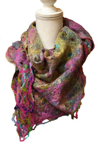 Nuno Felted Scarf - SOLD