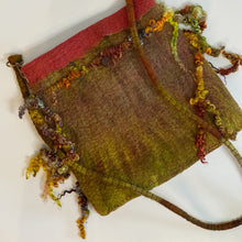 Load image into Gallery viewer, Earthy Boho Bag with Spun Locks