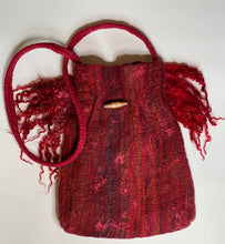 Load image into Gallery viewer, Fine Felted Handbag - Brick Red