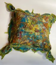 Load image into Gallery viewer, Fine Felt Textured Pillow - Autumn