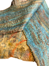 Load image into Gallery viewer, Helix Wet Felted Scarf