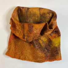 Load image into Gallery viewer, Autumn Fine Felt Cowl / Head-wrap