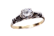 1/2 Carat Diamond Engagement Solitaire