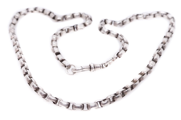 Sterling Silver Watch Chain Necklace