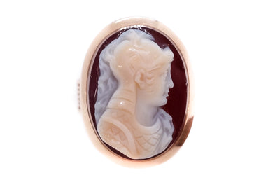 Warrior Cameo Ring
