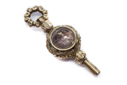 Agate Crystal Watch Key