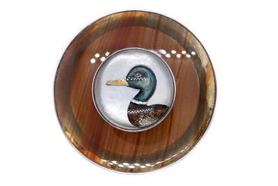 Austro Hungarian Banded Agate Duck Essex Crystal Box