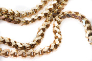 15k Gold Fancy Link Chain Necklace