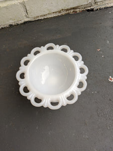 Anchor Hocking milk glass