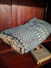 Load image into Gallery viewer, 1920s to 1940s wool blanket or throw