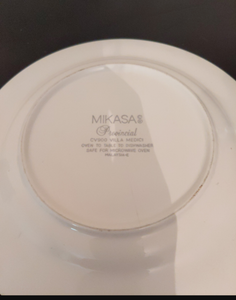 1980s Mikasa Provincial plate