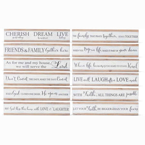 18 Inch Inspirational Tabletop signs