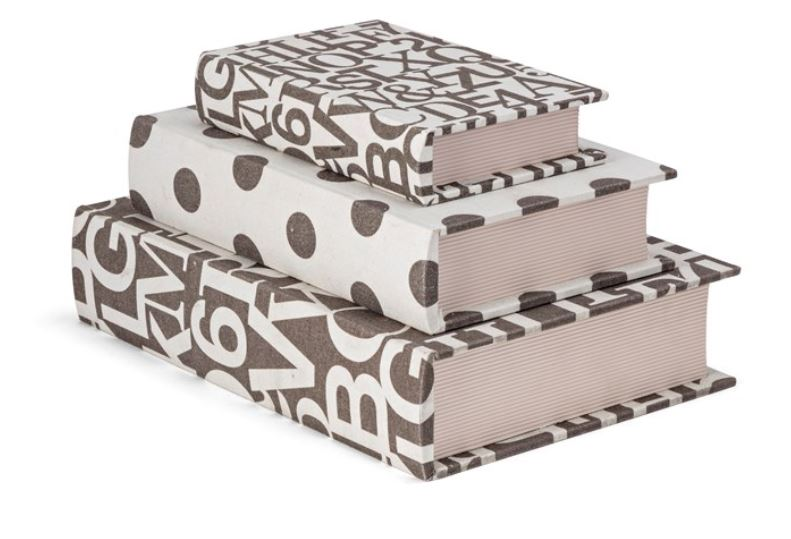 Book Boxes (set of 3)