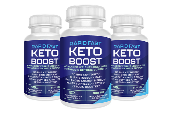 Shark Tank Rapid Fast Keto Boost Diet - Burn Fat - Buy 3 Get 2 Free